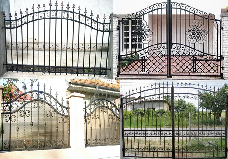 Porți și garduri din fier forjat